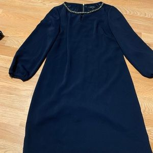 Women's dress with nice chain